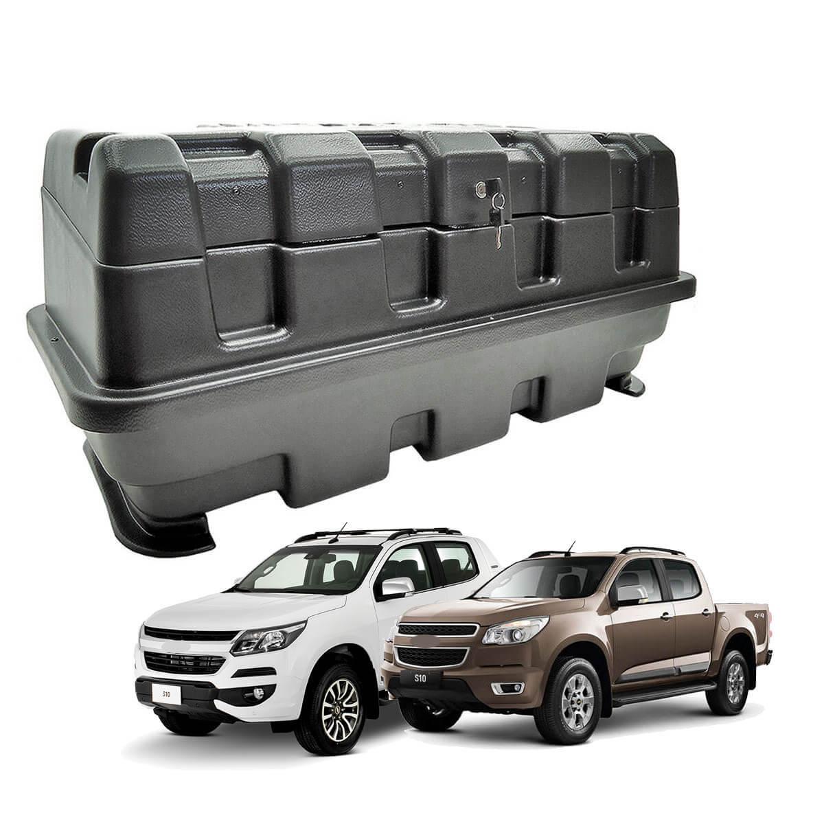 Caixa para caçamba Motobul 140 litros Nova S10 2012 a 2022