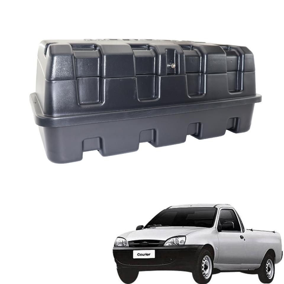 Caixa para caçamba Motobul 140 litros Courier 1997 a 2013