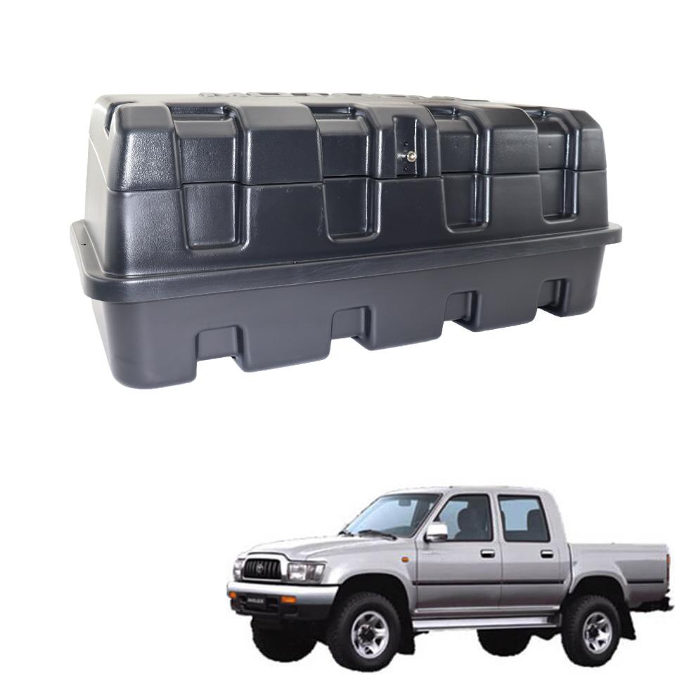Caixa para caçamba Motobul 140 litros Hilux 1998 a 2004