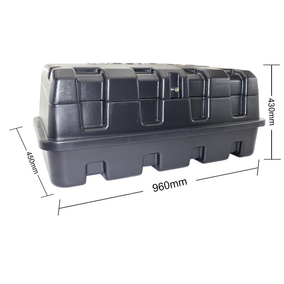 Caixa para caçamba Motobul 140 litros L200 Triton 2008 a 2016