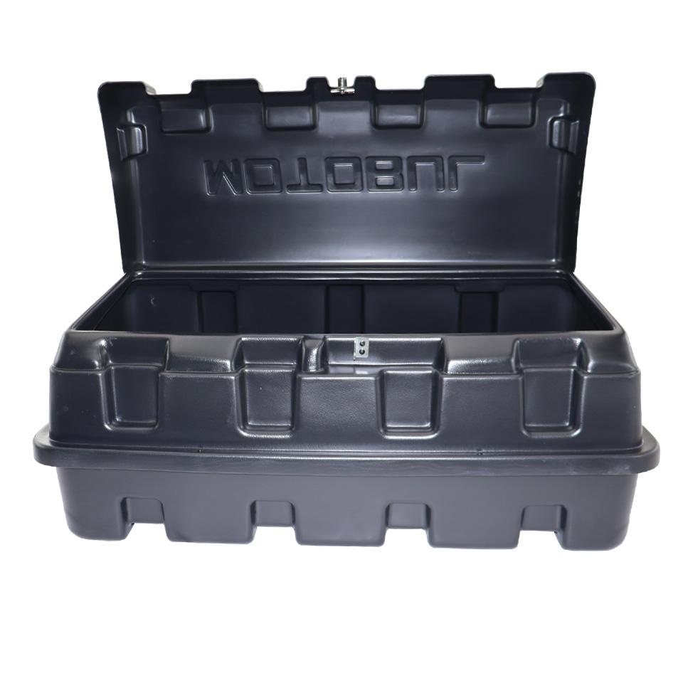Caixa para caçamba Motobul 140 litros L200 Triton Sport 2017 a 2020 e L200 Triton Outdoor 2021 2022
