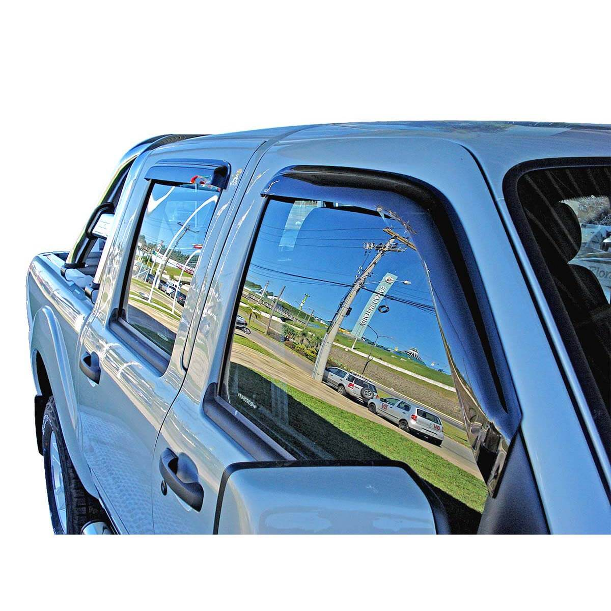 Calha de chuva Amarok cabine dupla 2011 a 2020