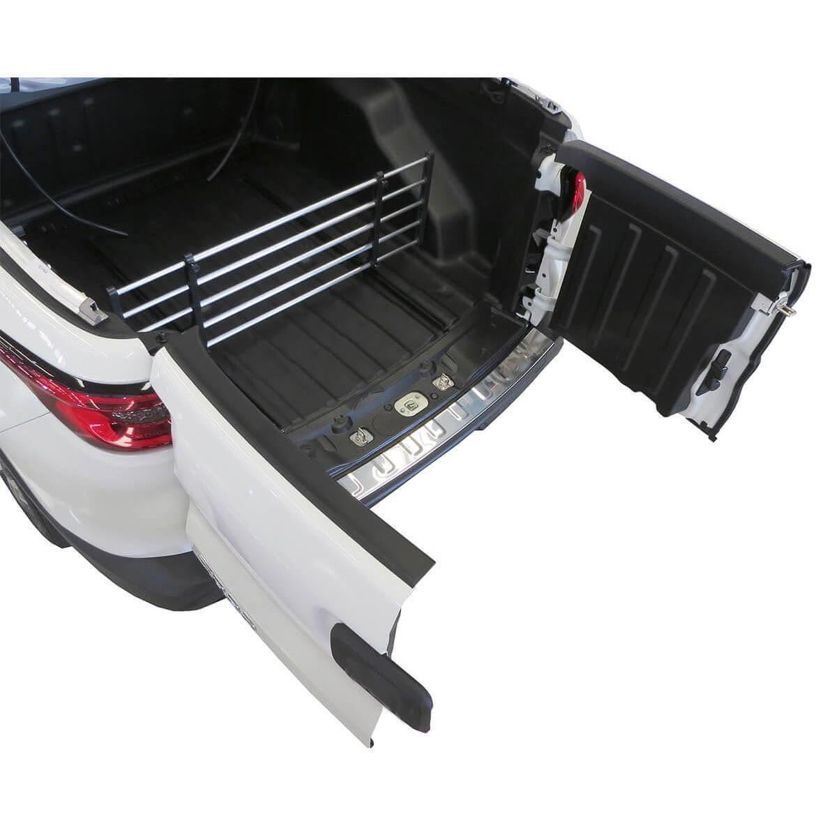 Divisor separador de cargas caçamba Fiat Toro 2017 a 2022