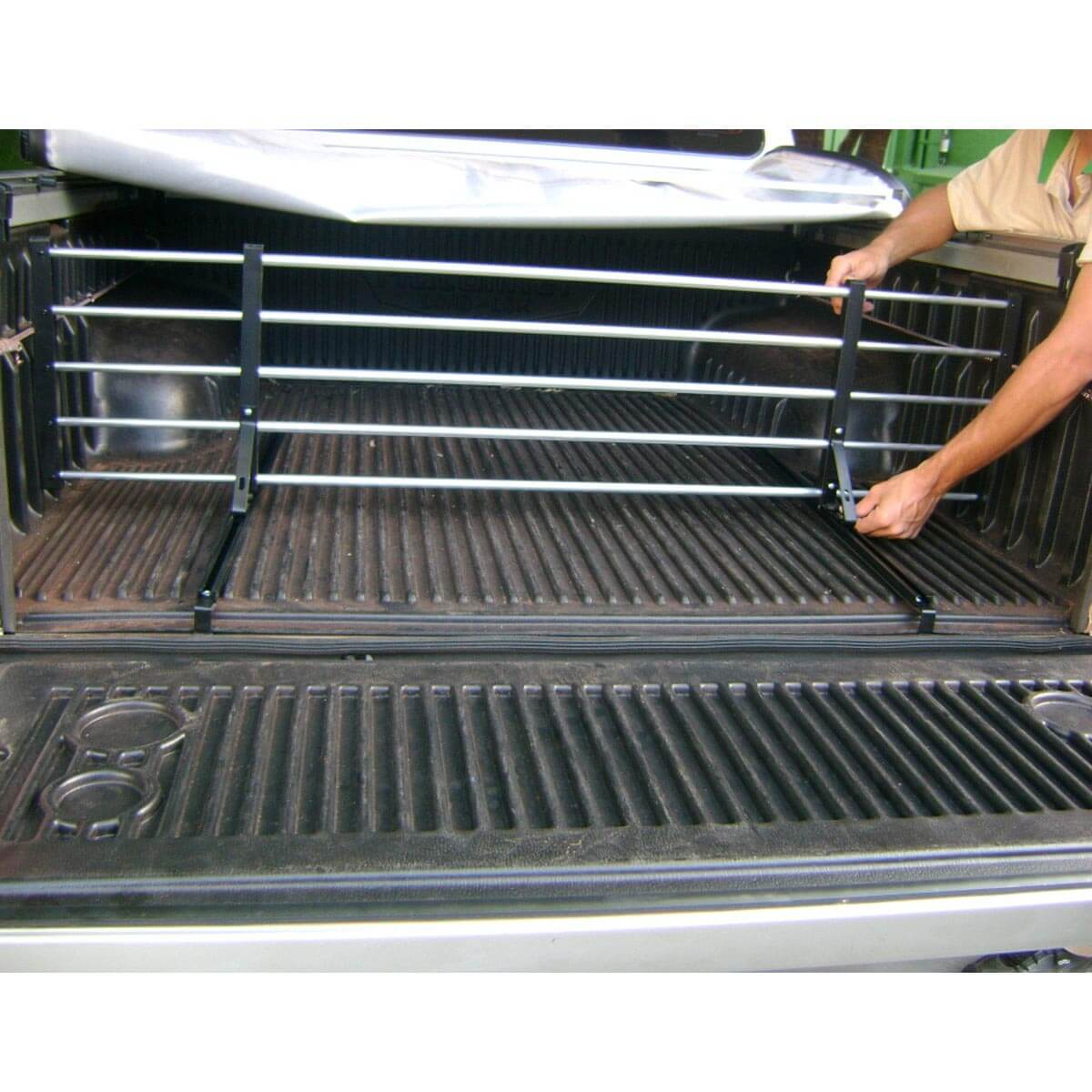 Divisor separador de cargas caçamba Saveiro 1998 a 2009