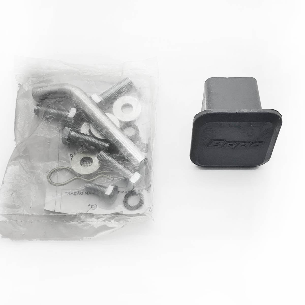 Engate de reboque Amarok 2011 a 2020 Bepo removível 700 Kg