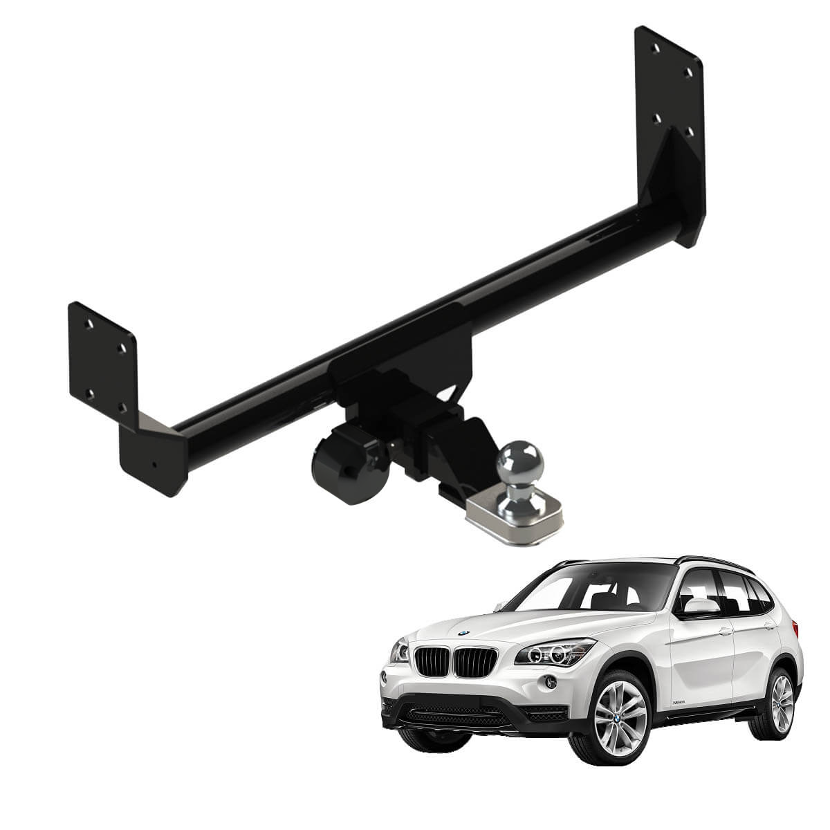 Engate de reboque removível Gedeval BMW X1 2010 a 2016