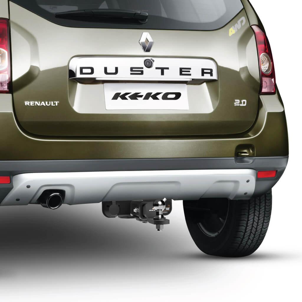 Engate de reboque removível Keko K1 Duster 2012 a 2022 tração 4x2