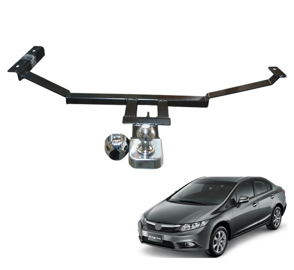 Engate de reboque fixo Civic 2012 a 2016