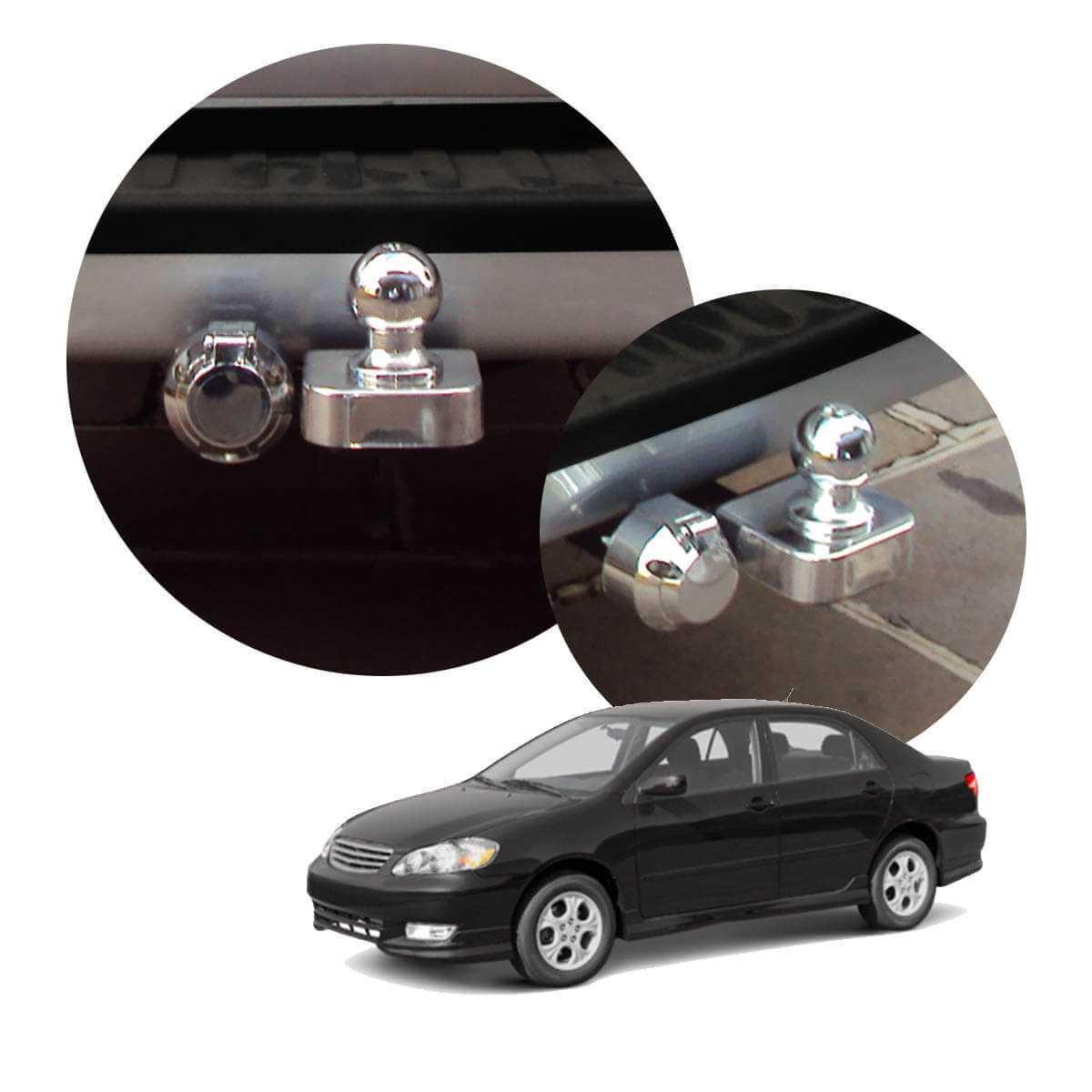 Engate de reboque fixo Corolla 2003 a 2008