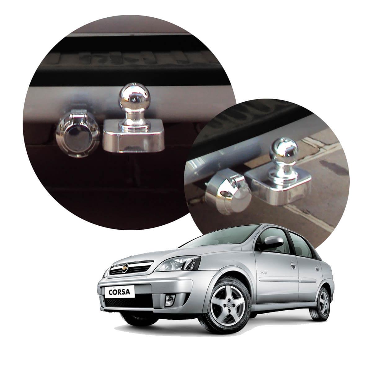 Engate de reboque fixo Corsa Sedan 2004 a 2012