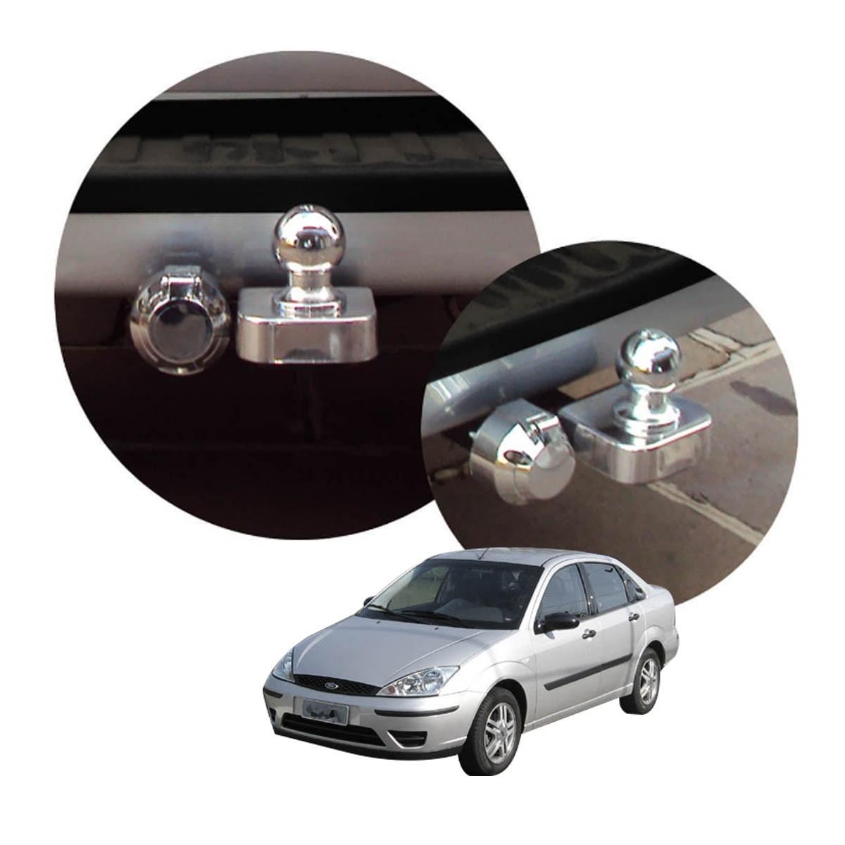 Engate de reboque fixo Focus sedan 2003 a 2008