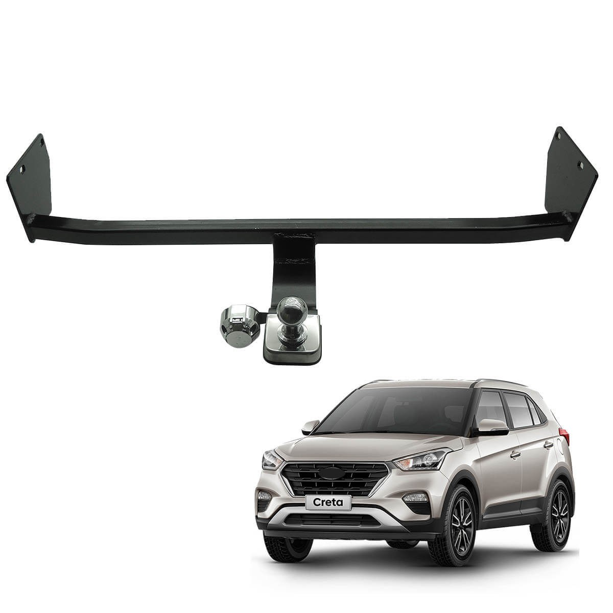 Engate de reboque fixo Hyundai Creta 2017 a 2021