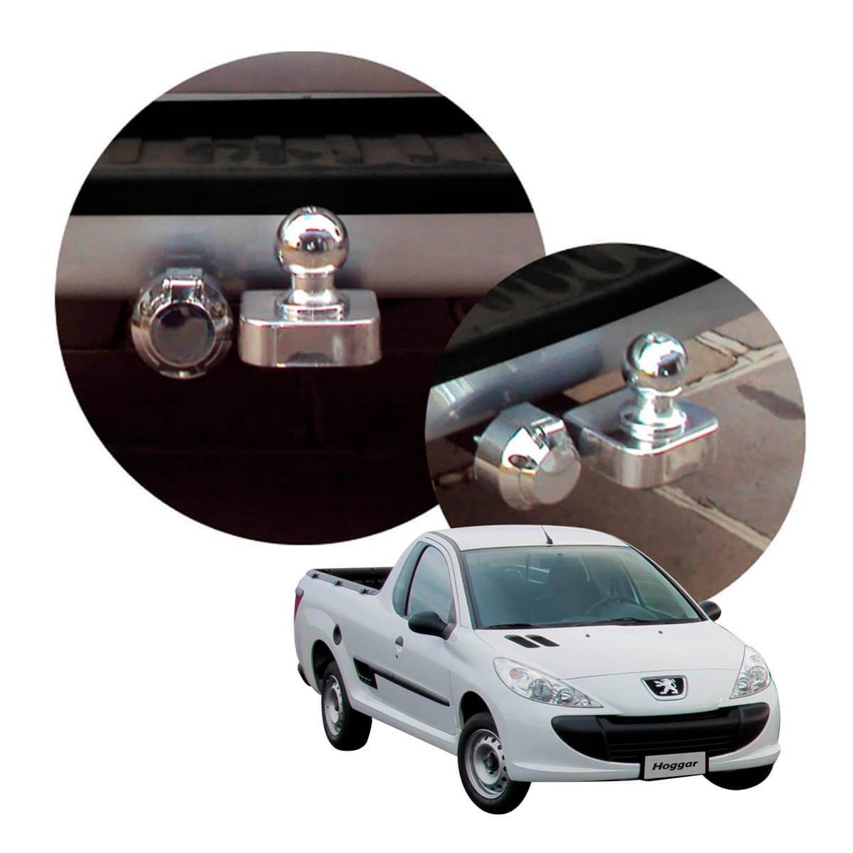 Engate de reboque fixo Peugeot Hoggar 2010 a 2014