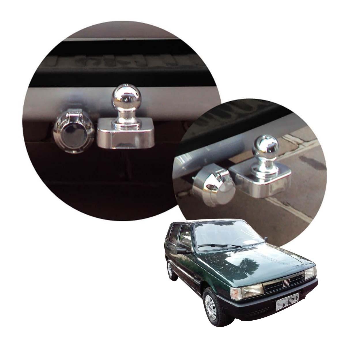 Engate de reboque fixo Uno Mille 1984 a 1999