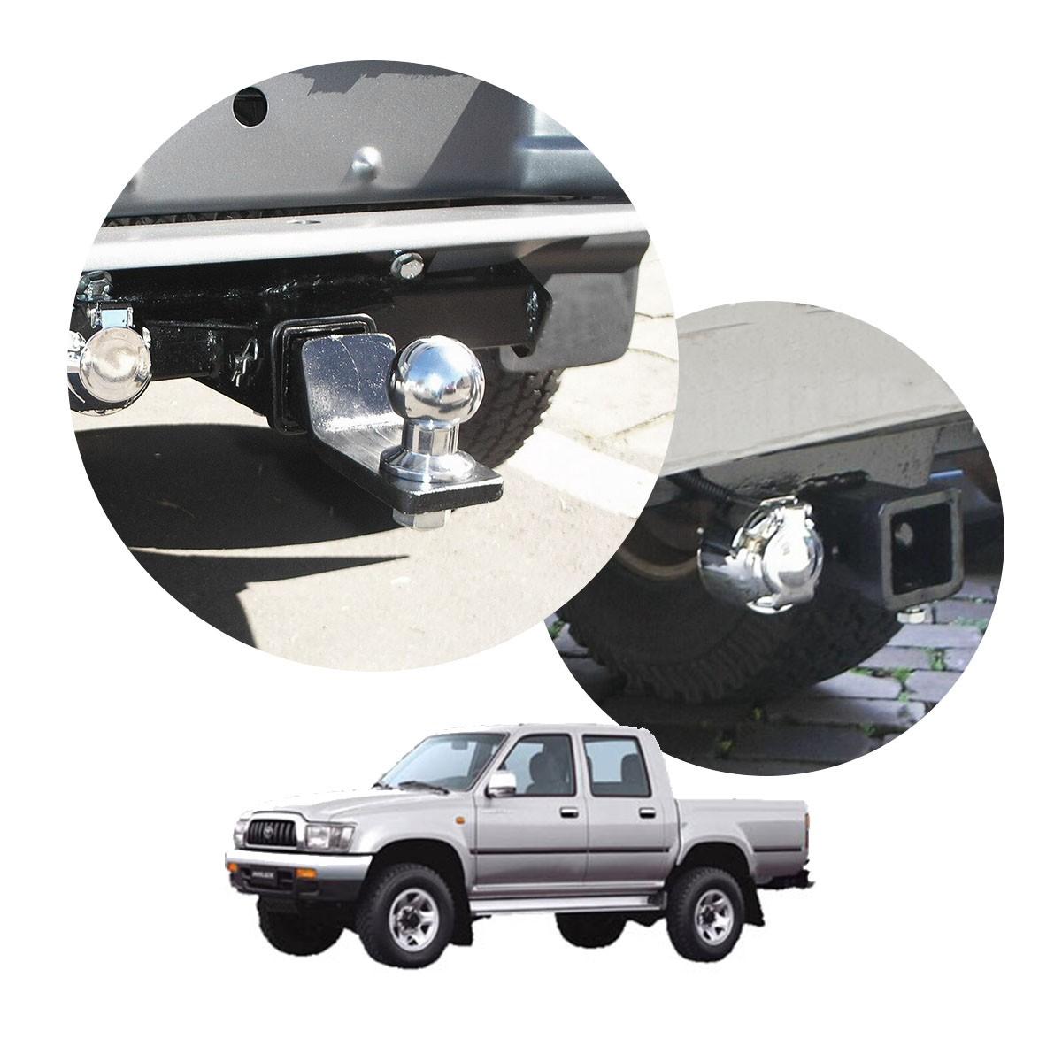 Engate de reboque removível Hilux cabine dupla 1992 a 2004