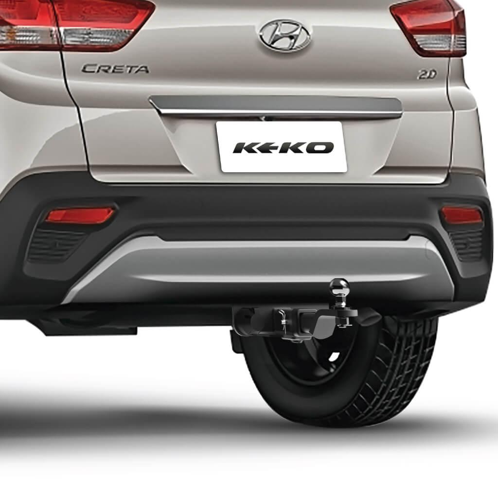 Engate de reboque Hyundai Creta 2017 2018 2019 Keko K1 removível 750 kg