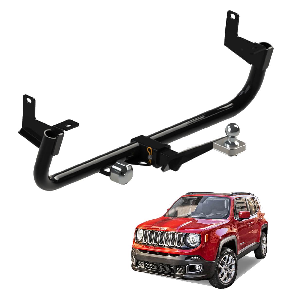 Engate de reboque Jeep Renegade 2016 2017 2018 2019 Gedeval removível 700 kg
