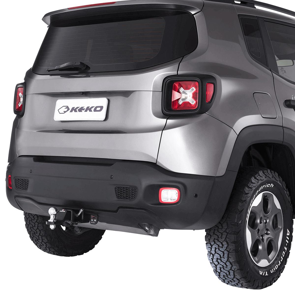 Engate de reboque removível Keko K1 Jeep Renegade 2016 a 2021