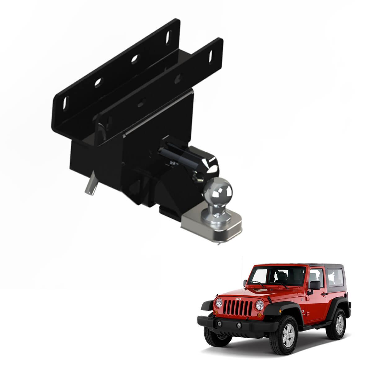 Engate de reboque removível Gedeval Jeep Wrangler 2007 a 2020
