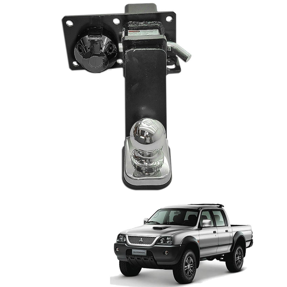 Engate de reboque removível Gedeval L200 Sport 2004 a 2007 ou L200 Outdoor 2007 a 2012