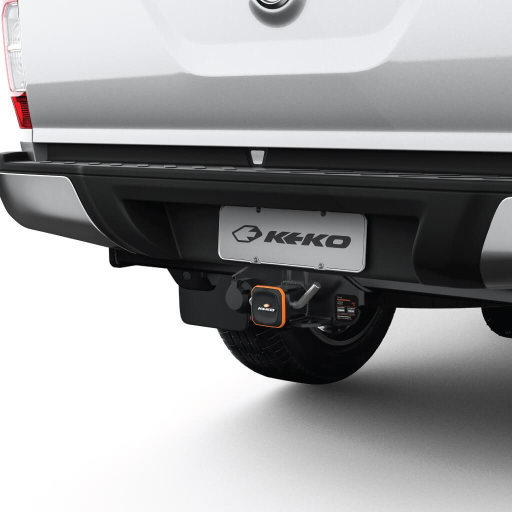 Engate de reboque Nova Frontier 2017 2018 2019 2020 Keko K1 removível 1500 kg