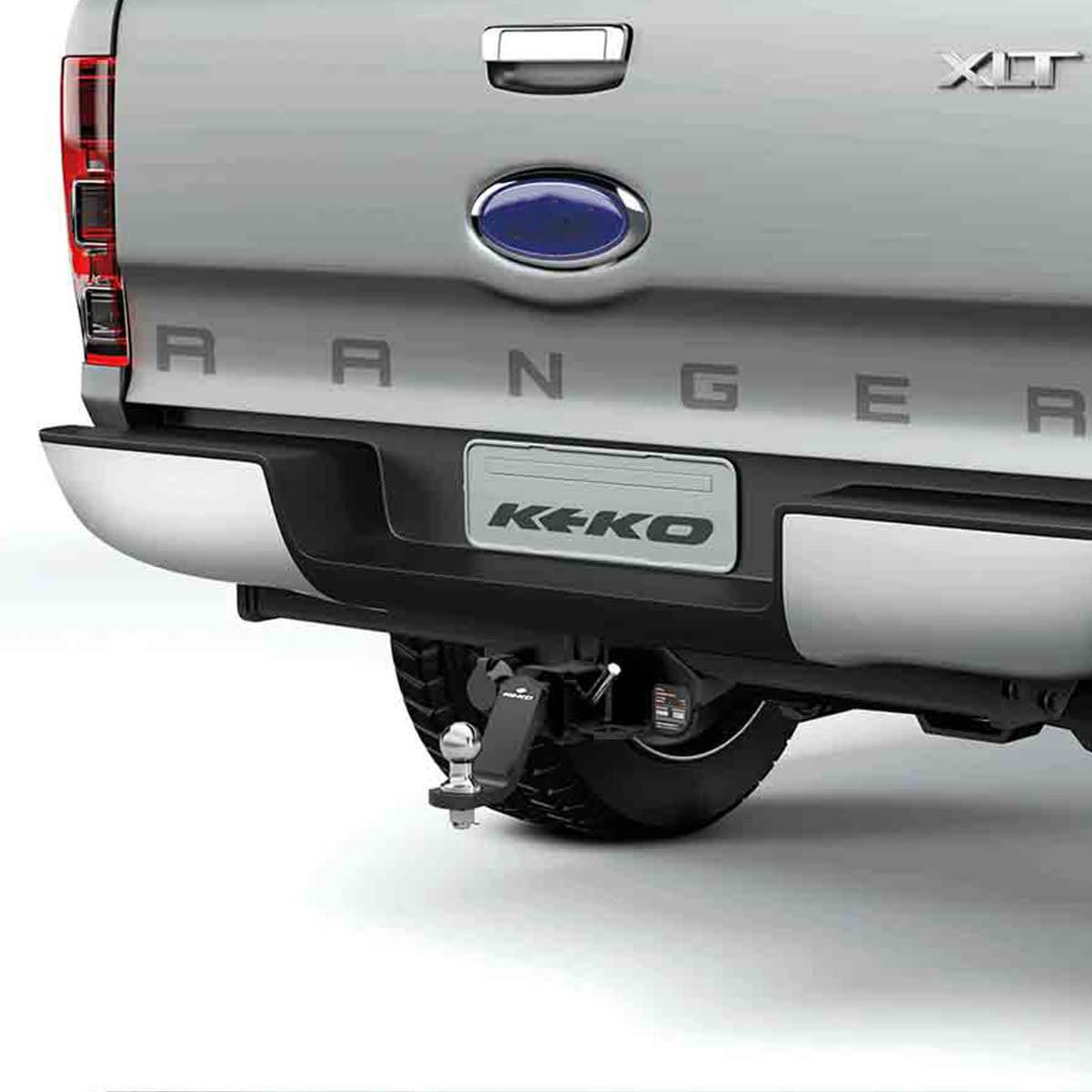 Engate de reboque removível Keko K1 Nova Ranger 2013 a 2021