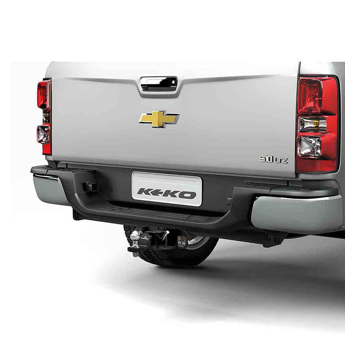 Engate de reboque removível Keko K1 Nova S10 2012 a 2021
