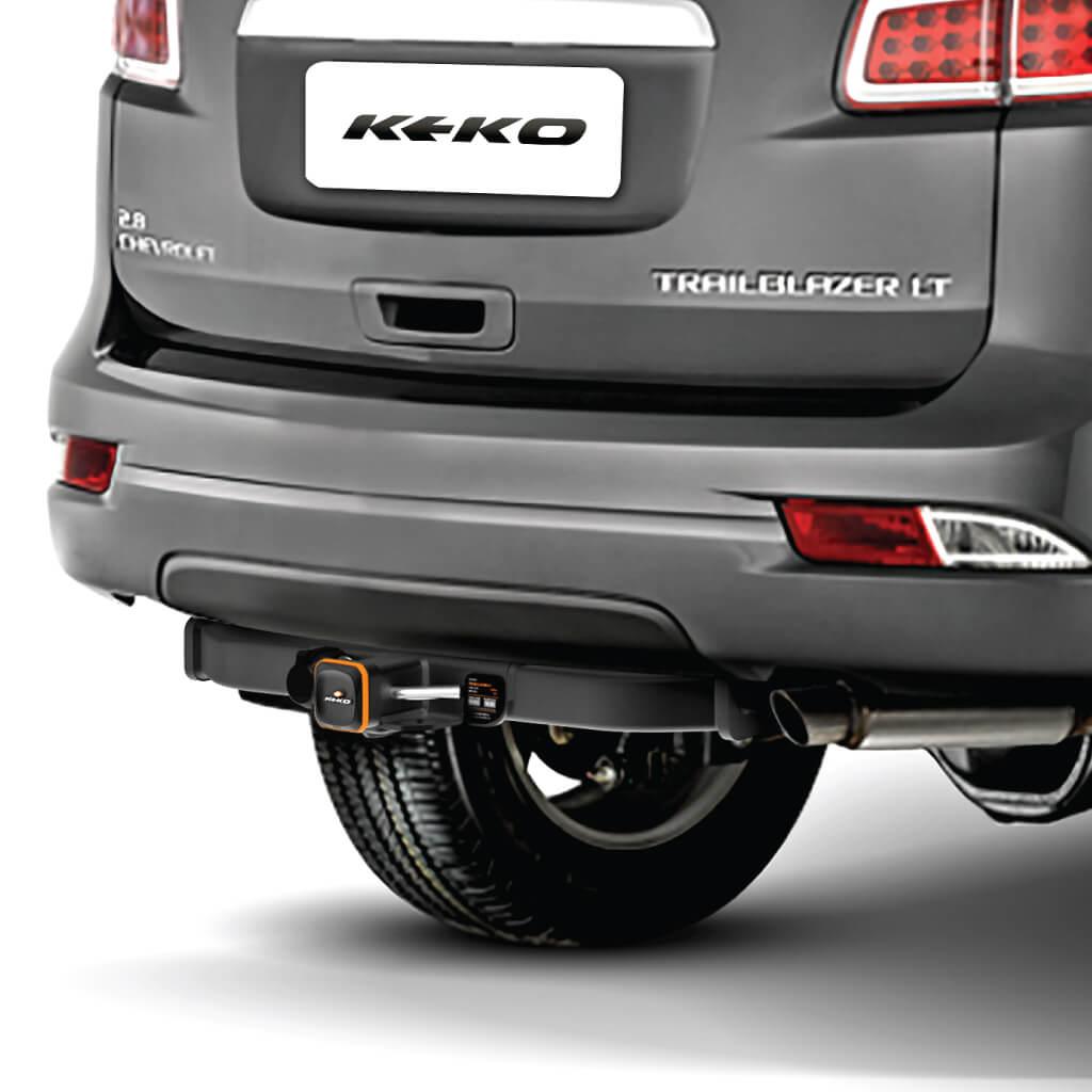 Engate de reboque Trailblazer 2013 a 2020 Keko K1 removível 750 kg