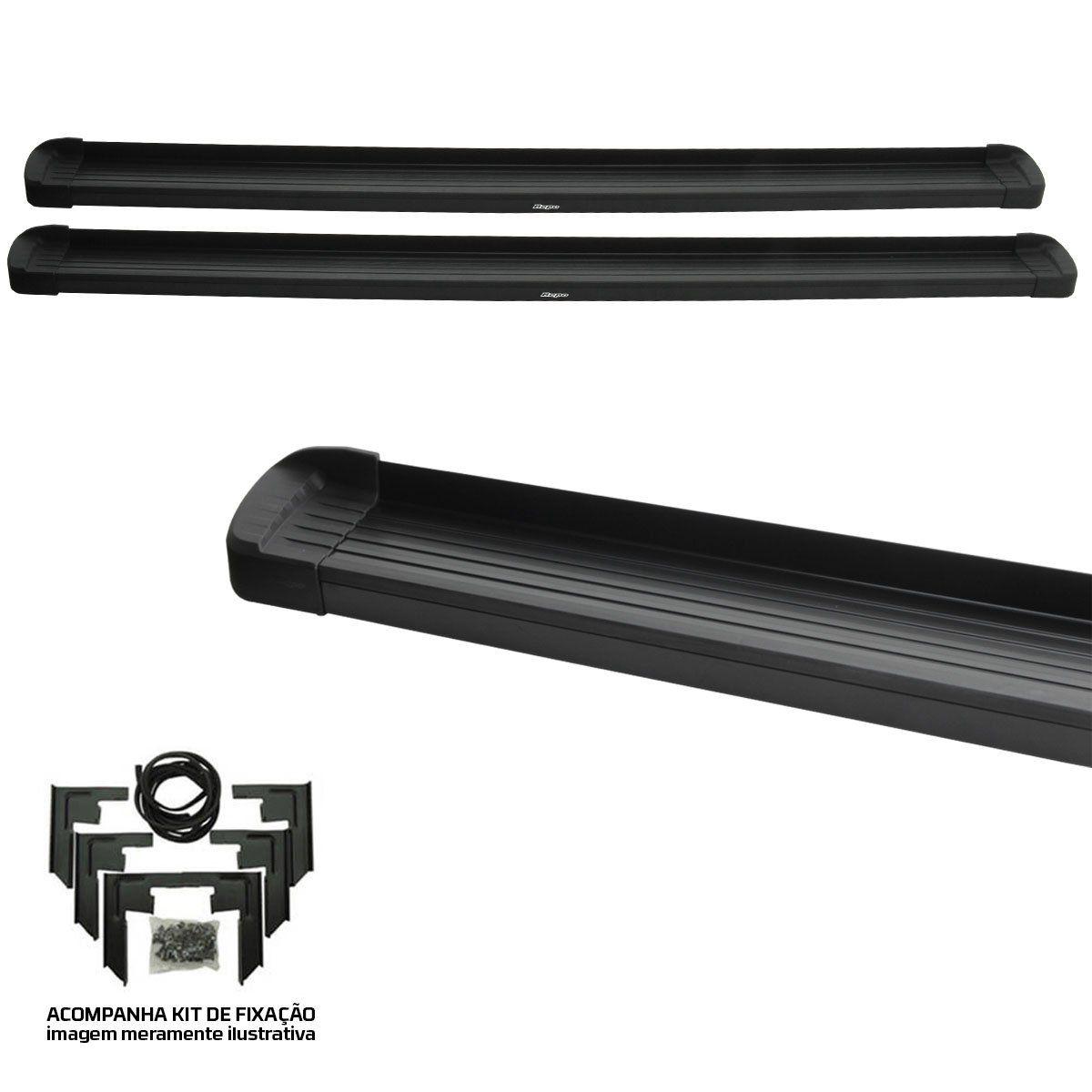 Estribo Bepo G3 alumínio preto L200 Triton 2008 a 2016