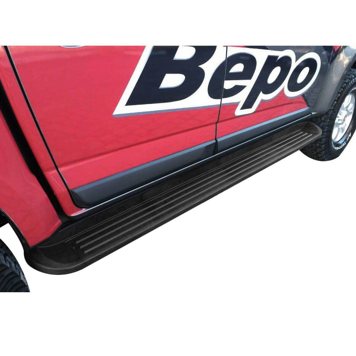 Estribo Nova S10 cabine dupla 2012 a 2020 semelhante original Bepo