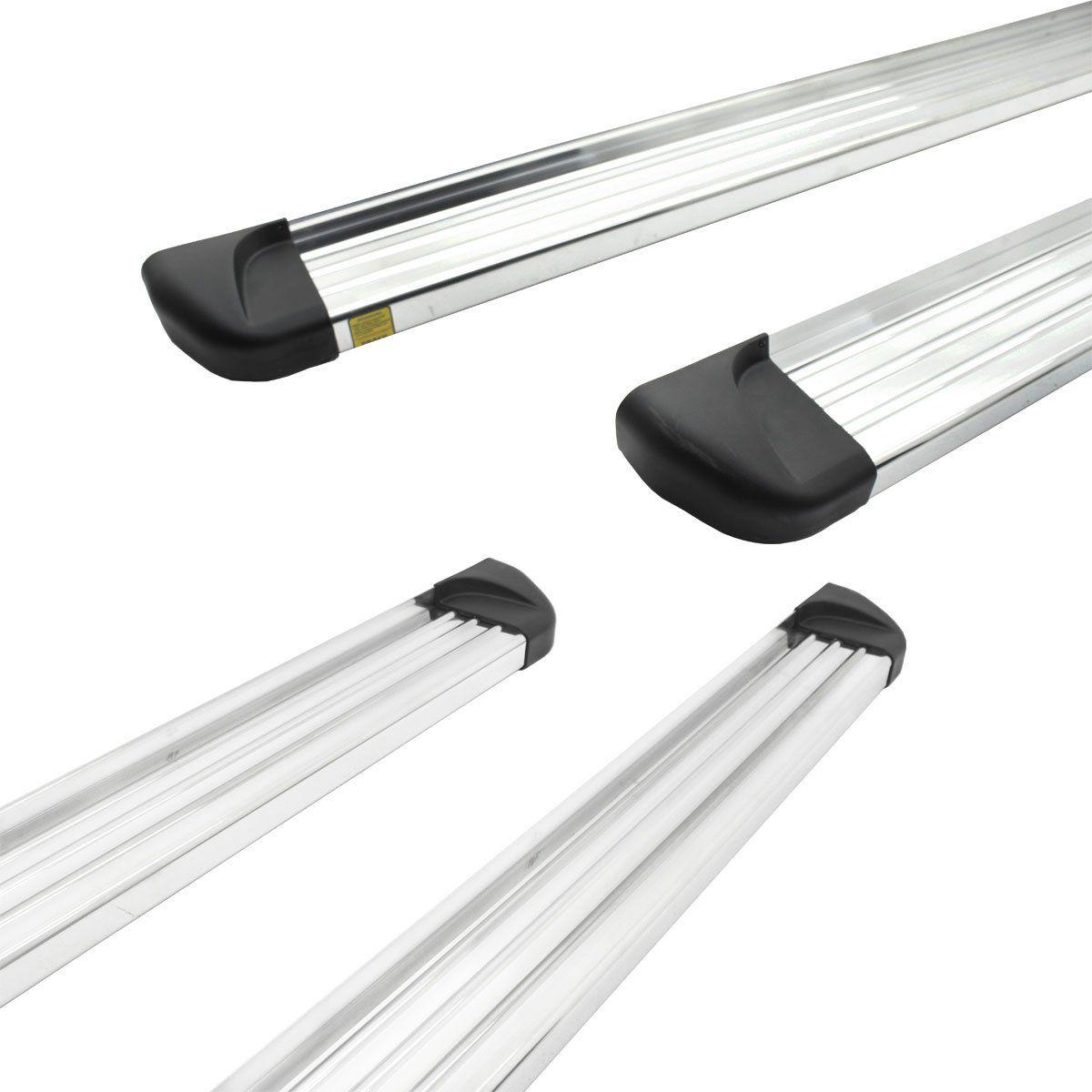 Estribo plataforma alumínio L200 Triton Sport 2017 a 2020 e L200 Triton Outdoor 2021