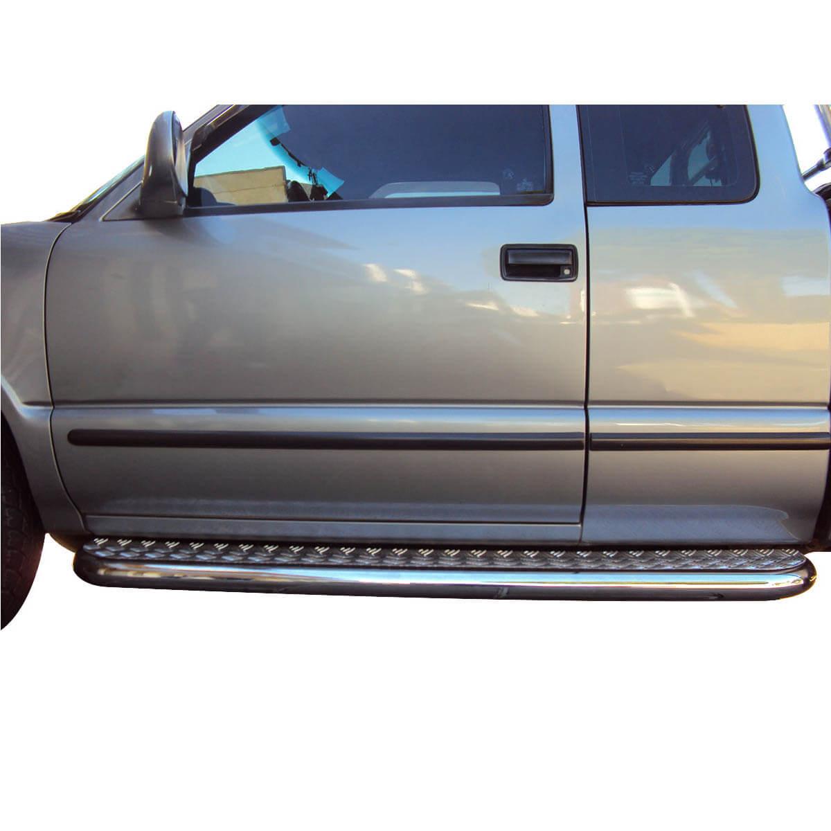 Estribo plataforma cromado Blazer 1996 a 2011