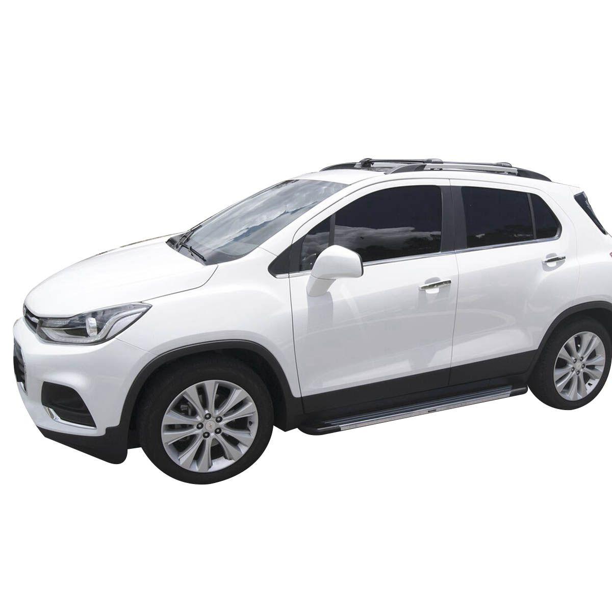 Estribo Bepo SUV 2 alumínio polido Sportage 2011 a 2016