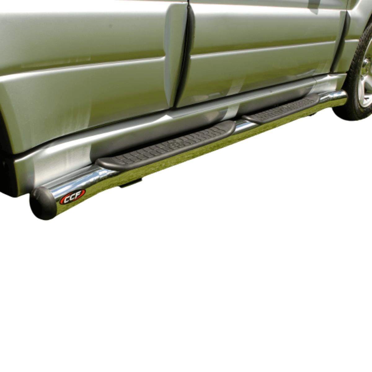 Estribo CCF tubular cromado Tracker 1999 a 2009