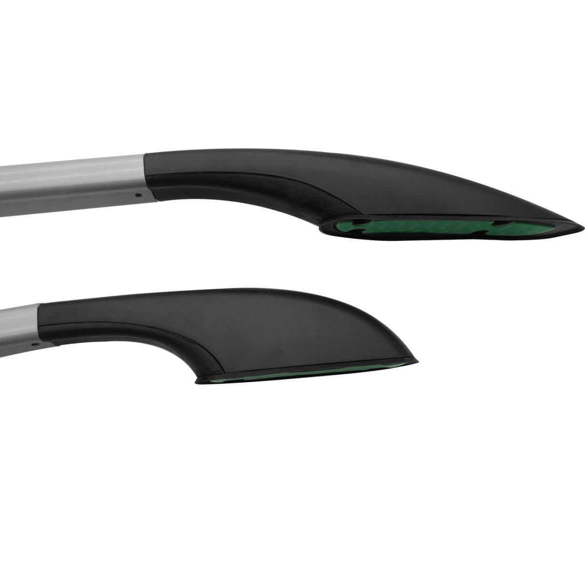 Longarina de teto VF decorativa HB20 ou HB20S 2013 a 2021 alumínio prata