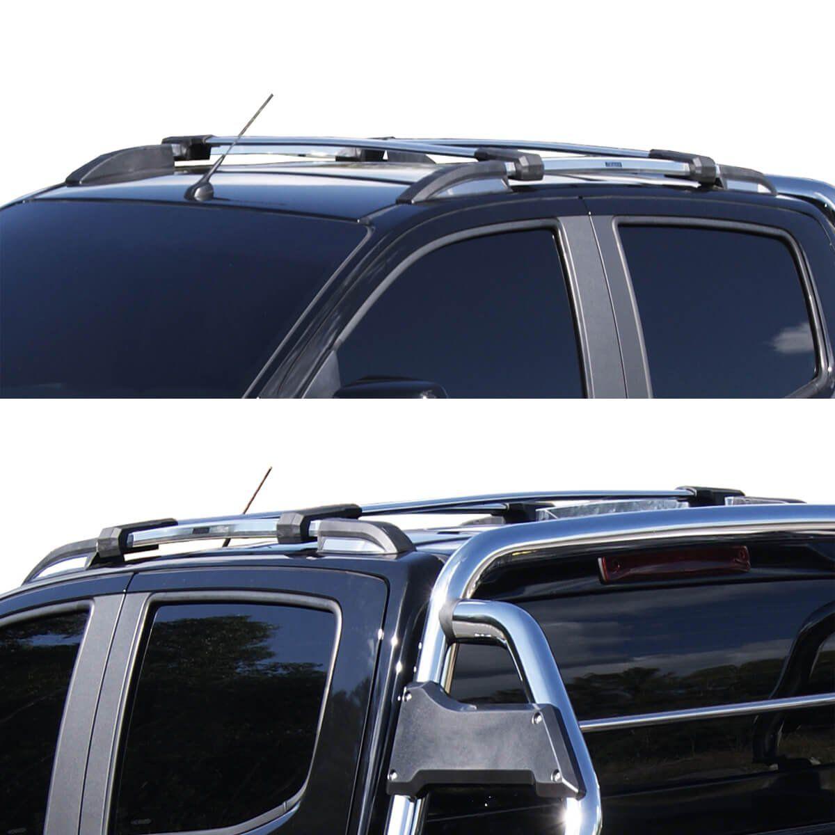 Longarina de teto Bepo Elite polido Nova S10 cabine dupla 2012 a 2021
