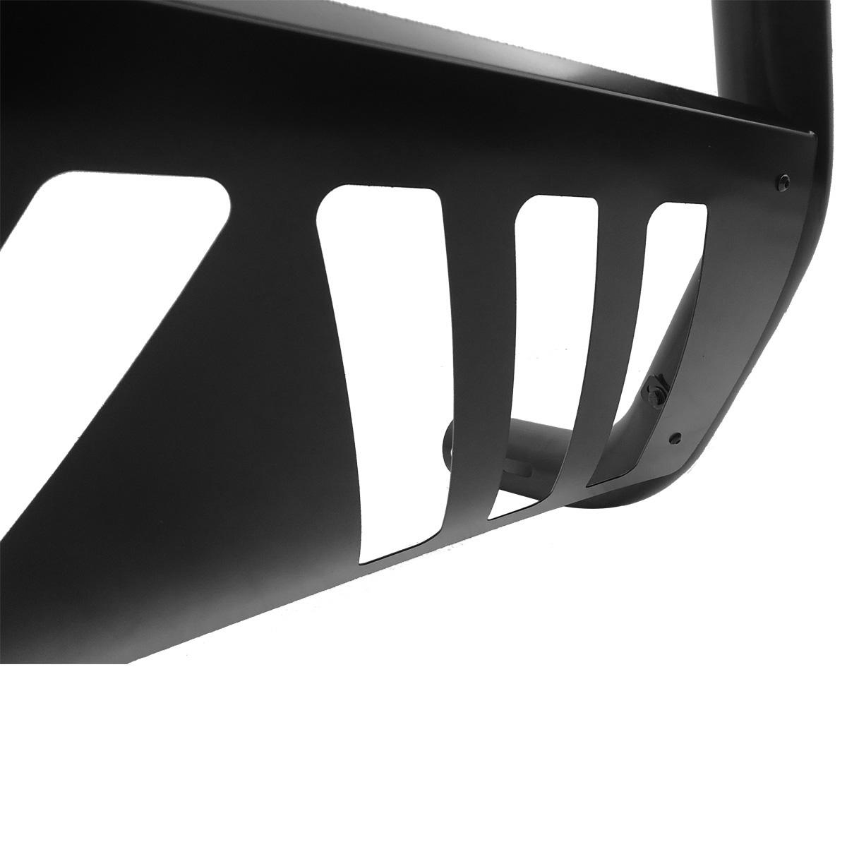 Parachoque de impulsão quebra mato VF com grade preto Ranger 2013 a 2022