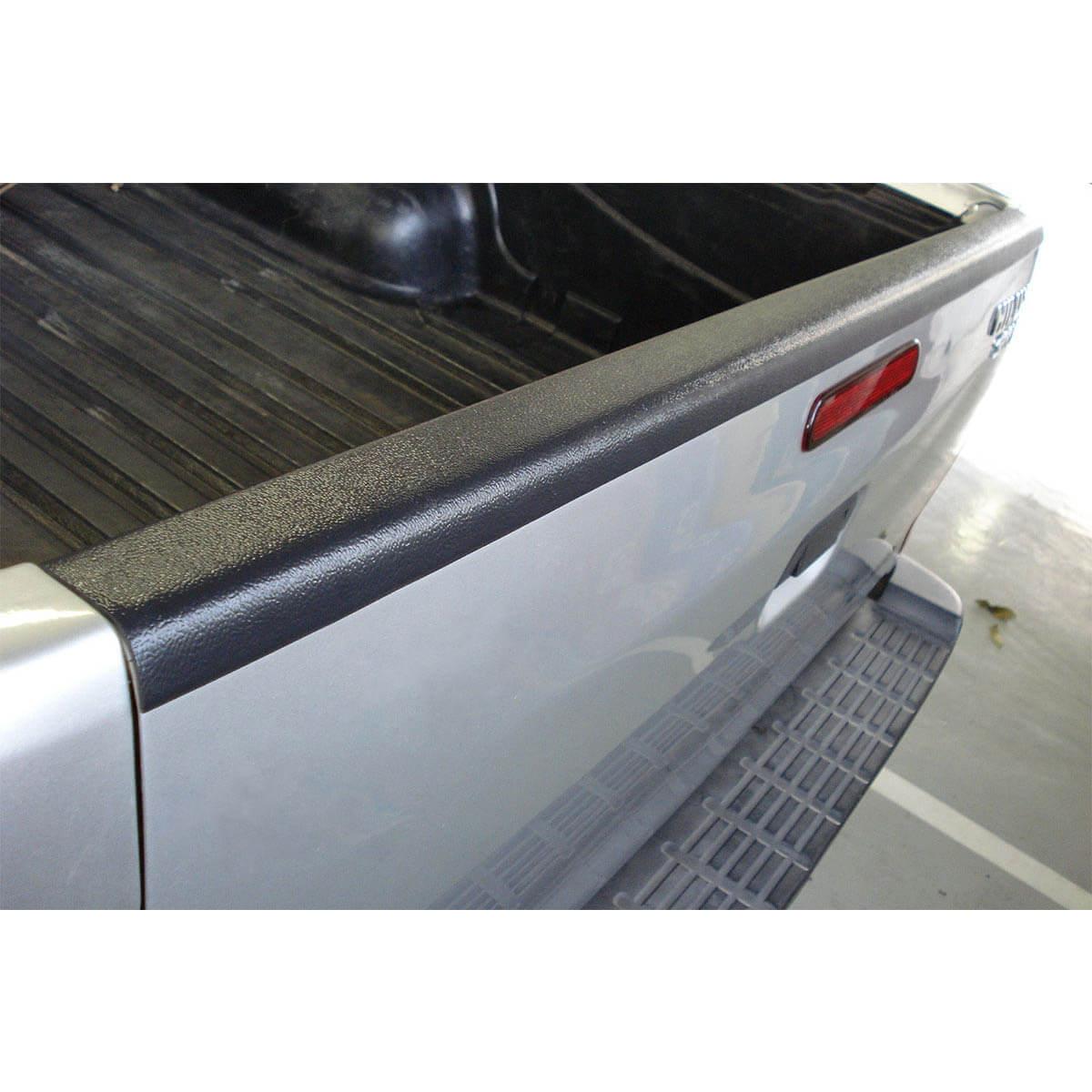 Protetor borda tampa caçamba Bepo Nova S10 cabine dupla 2012 a 2019