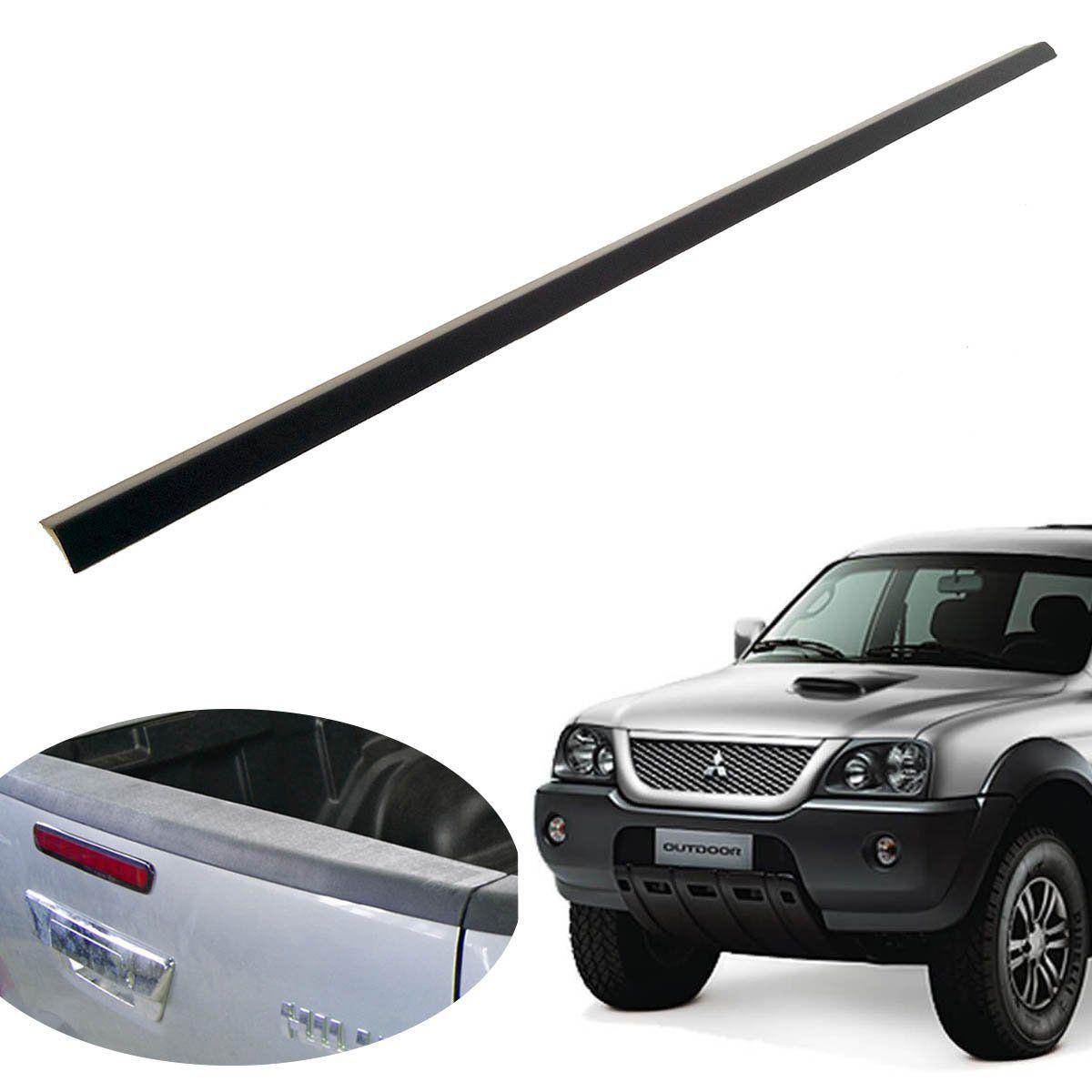 Protetor borda tampa caçamba L200 Sport 2004 a 2007 ou L200 Outdoor 2007 a 2012
