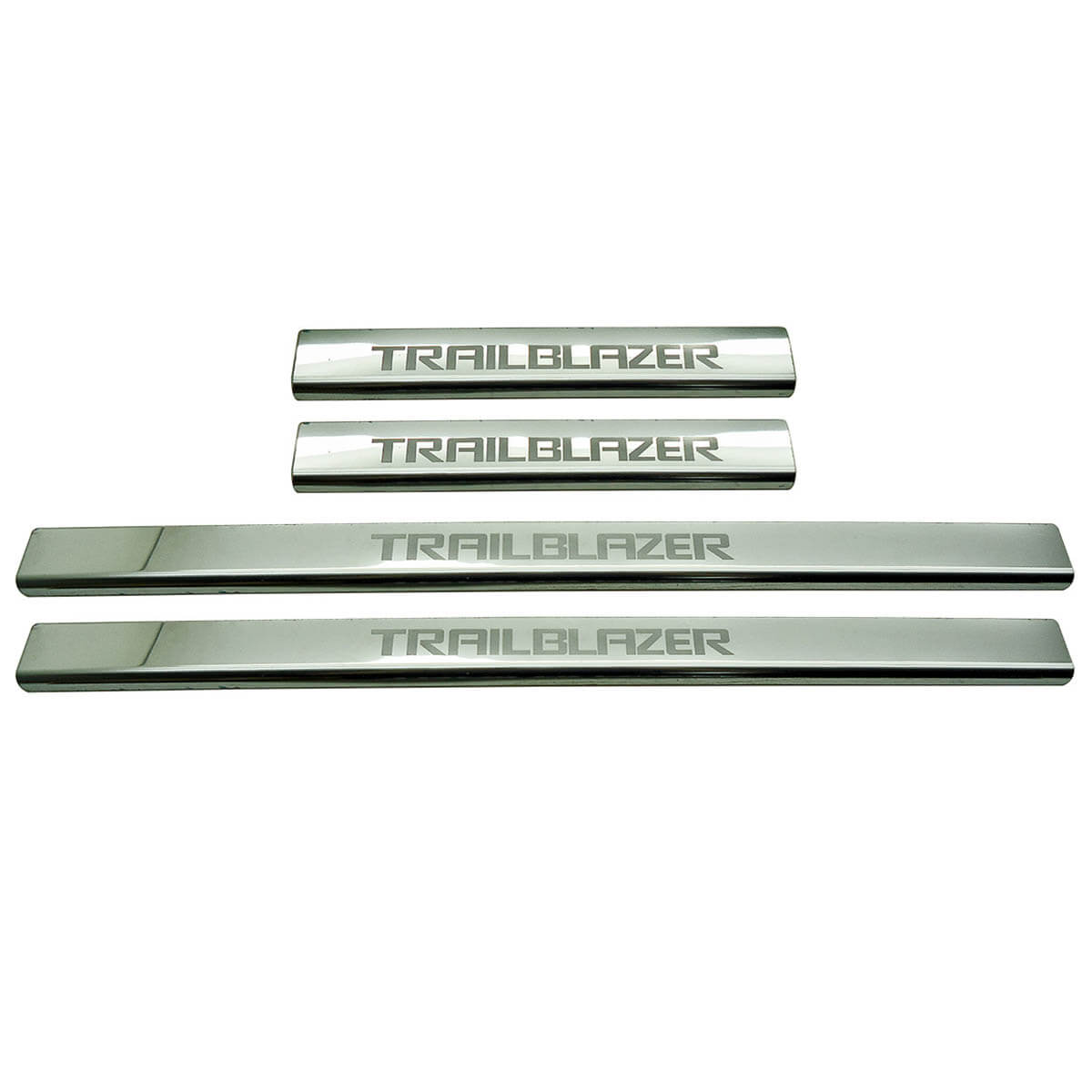 Protetor de soleira aço inox Trailblazer 2013 a 2022