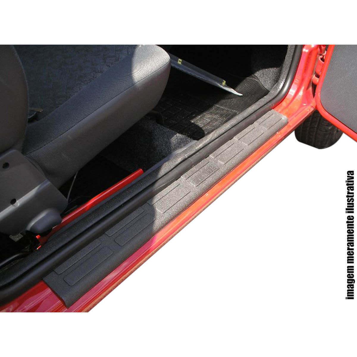 Protetor de soleira Nova S10 cabine dupla 2012 a 2020