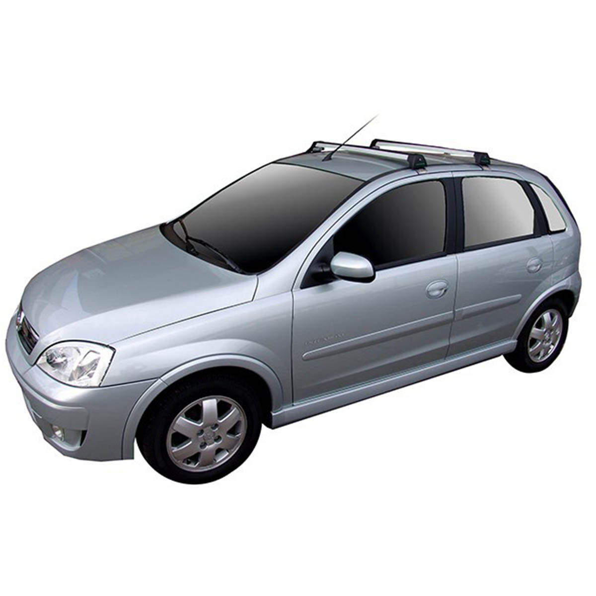 Rack de teto Long Life Sports Corsa hatch ou sedan 2004 a 2012