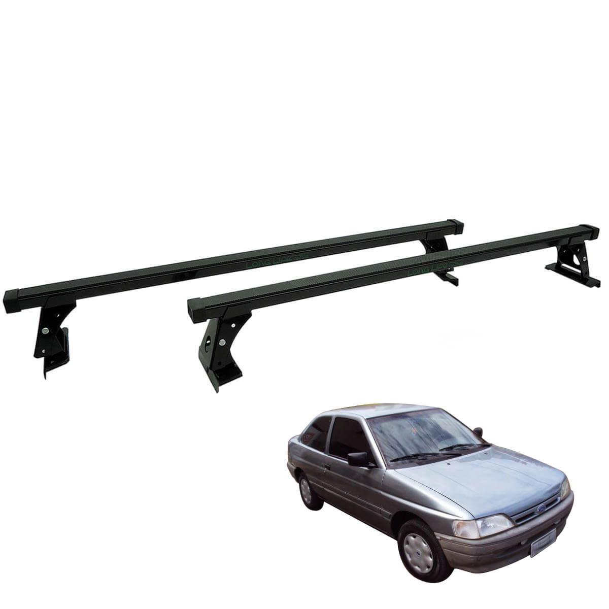 Rack de teto Long Life Aço Escort ou Logus 1993 a 2000 2 portas