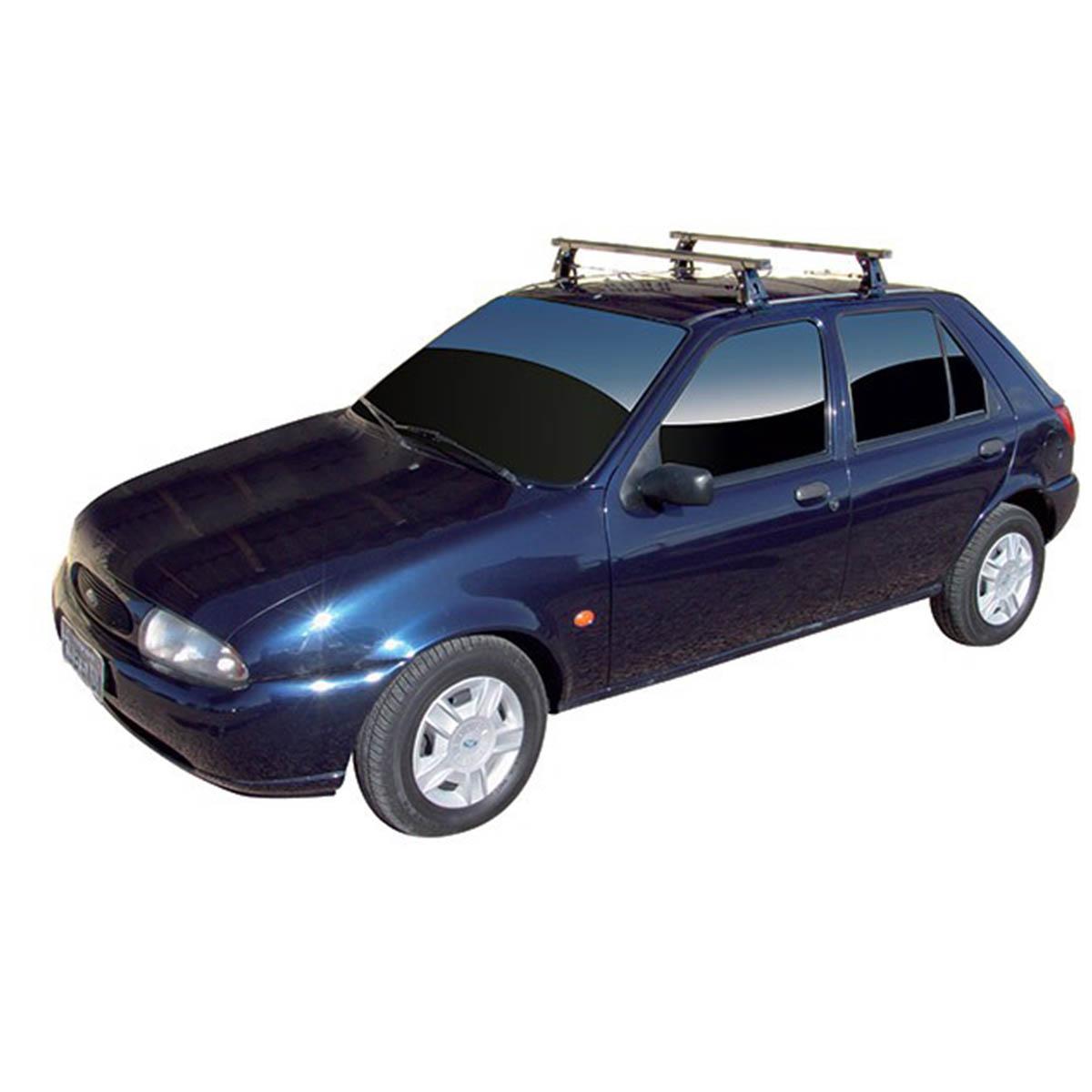 Rack de teto Long Life Aço Fiesta 1995 a 2002 4 portas