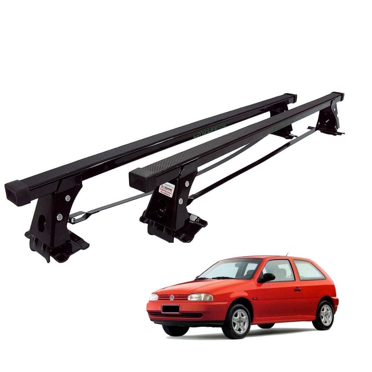Rack de teto Long Life Aço Gol G2 1995 a 1998 2 portas