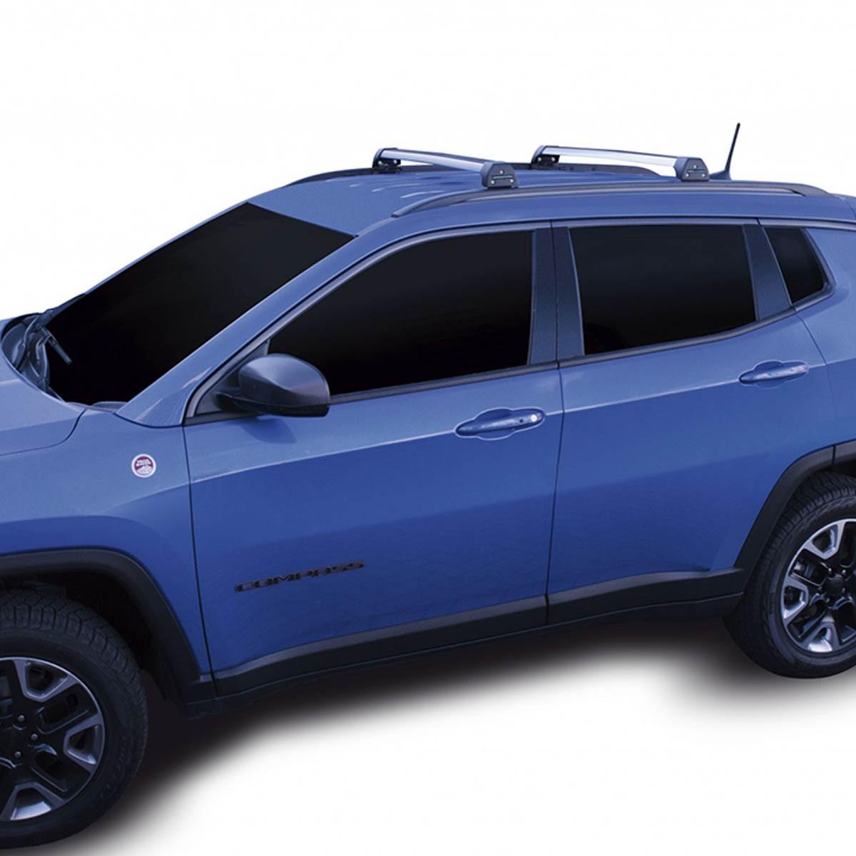 Rack de teto Long Life Sports Jeep Compass 2017 a 2022