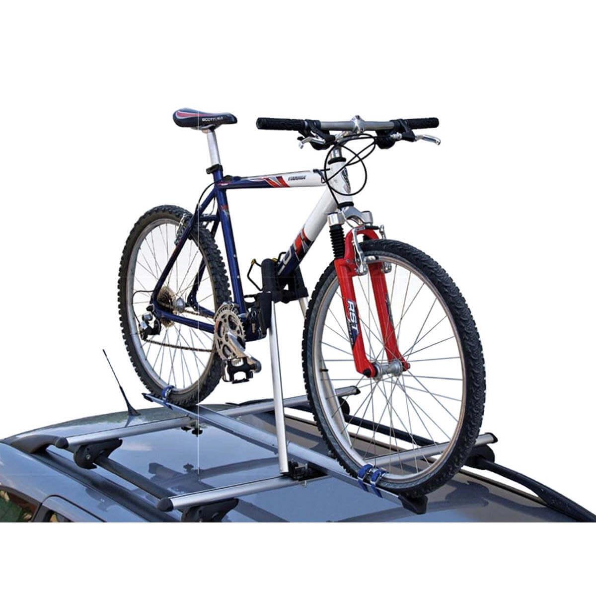 Rack de teto para bicicleta em alumínio Kiussi Tonale