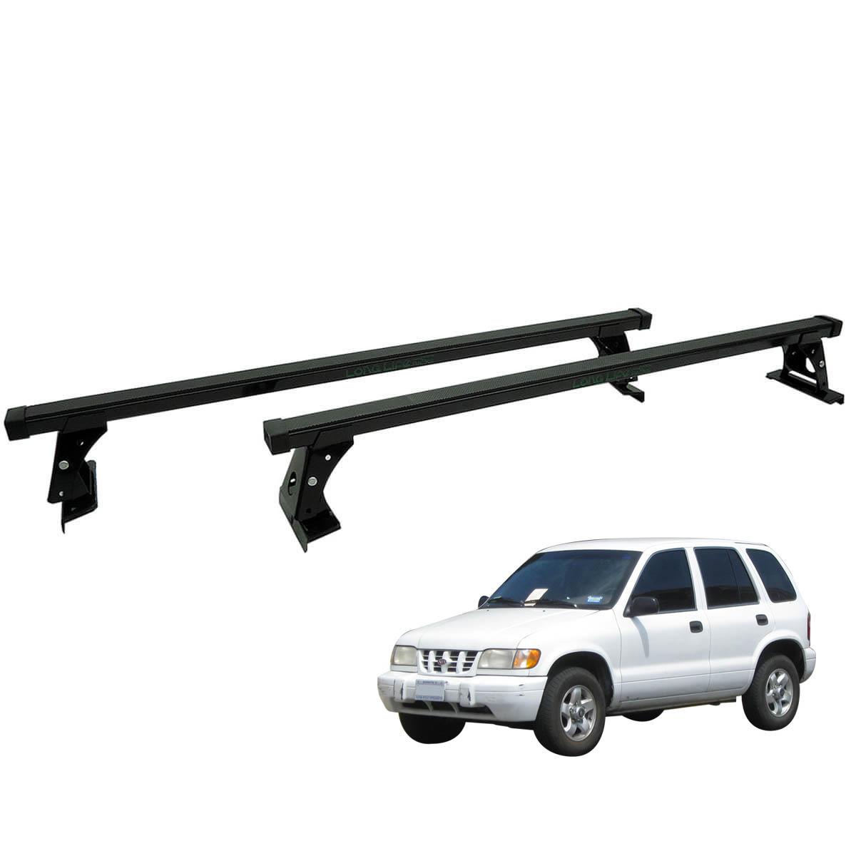 Rack de teto Long Life Aço Sportage até 2004 sem longarina de teto