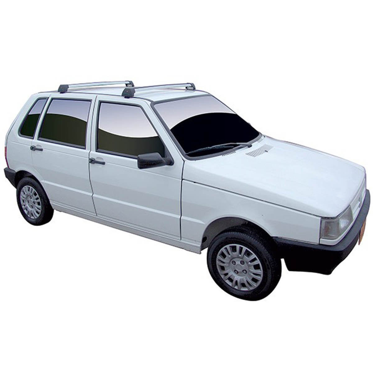 Rack de teto Long Life Sports Uno Mille 1984 a 2013 4 portas