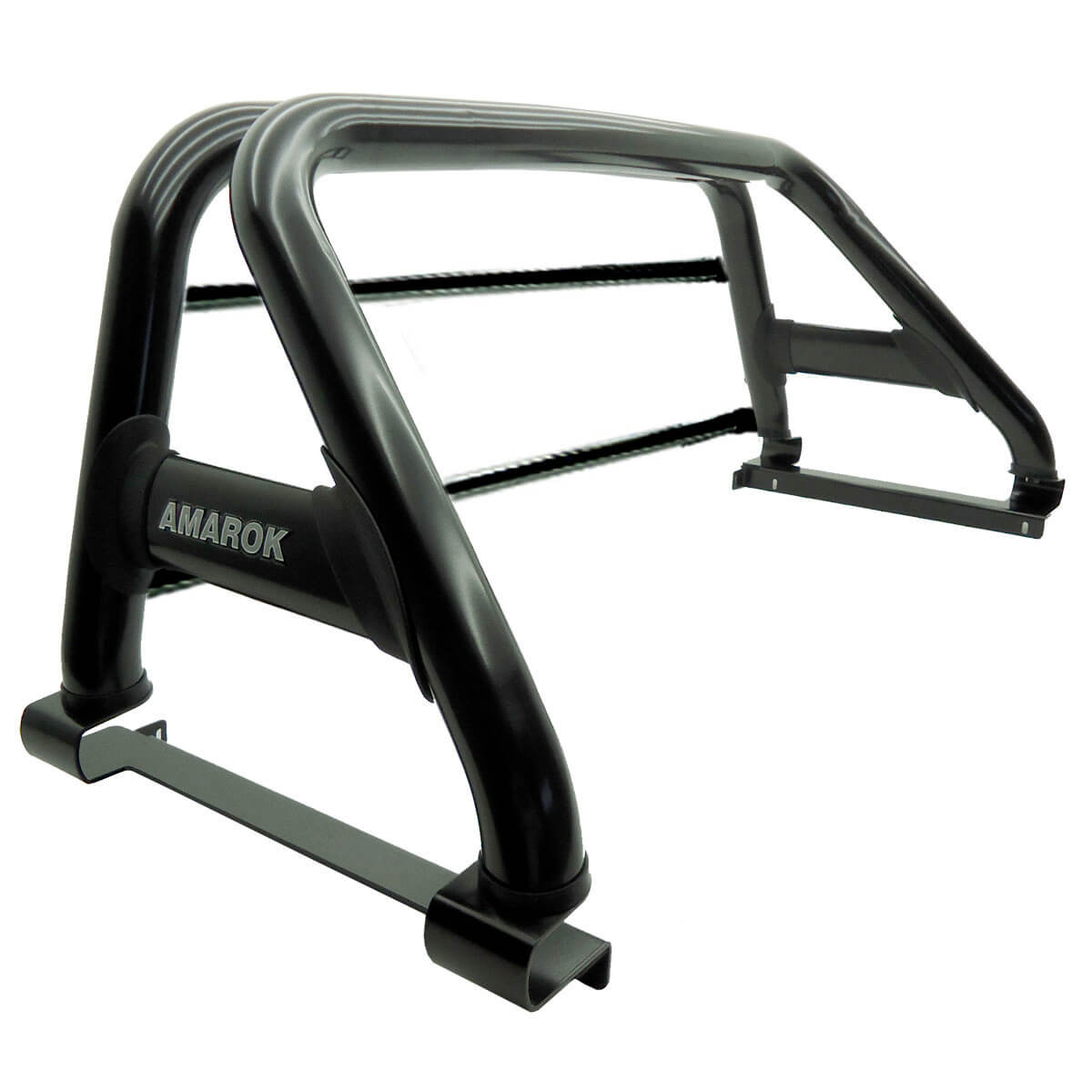 Santo antônio Track duplo preto Amarok 2011 a 2021 com barras de vidro
